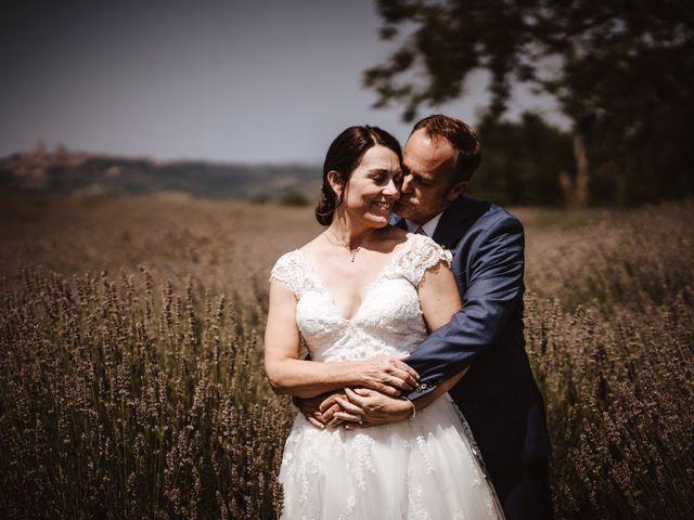 Il matrimonio di Adam e April a San Gimignano, Siena 22