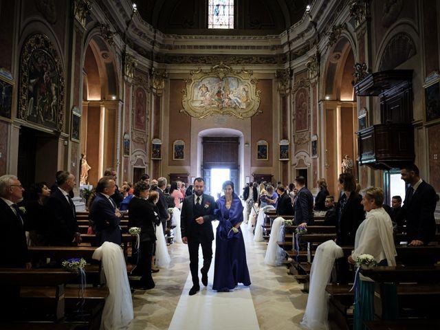 Il matrimonio di Pietro e Laura a Monticelli Brusati, Brescia 20