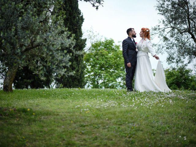 Il matrimonio di Pietro e Laura a Monticelli Brusati, Brescia 35