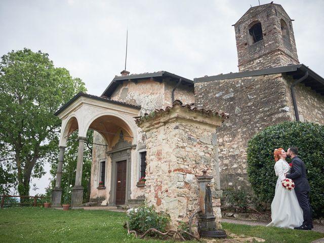 Il matrimonio di Pietro e Laura a Monticelli Brusati, Brescia 37