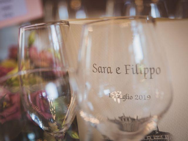 Il matrimonio di Filippo e Sara a Verona, Verona 90