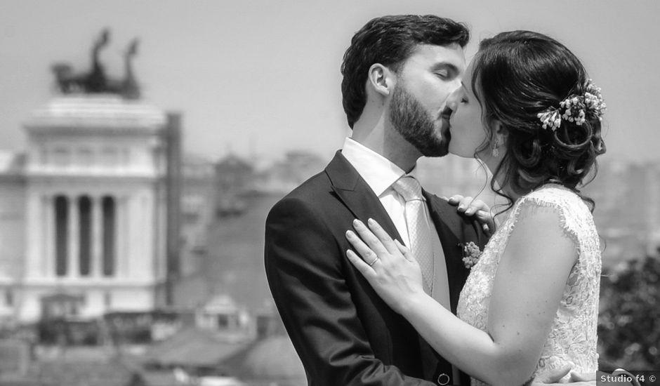 Il matrimonio di Giovanni e Giulia a Roma, Roma