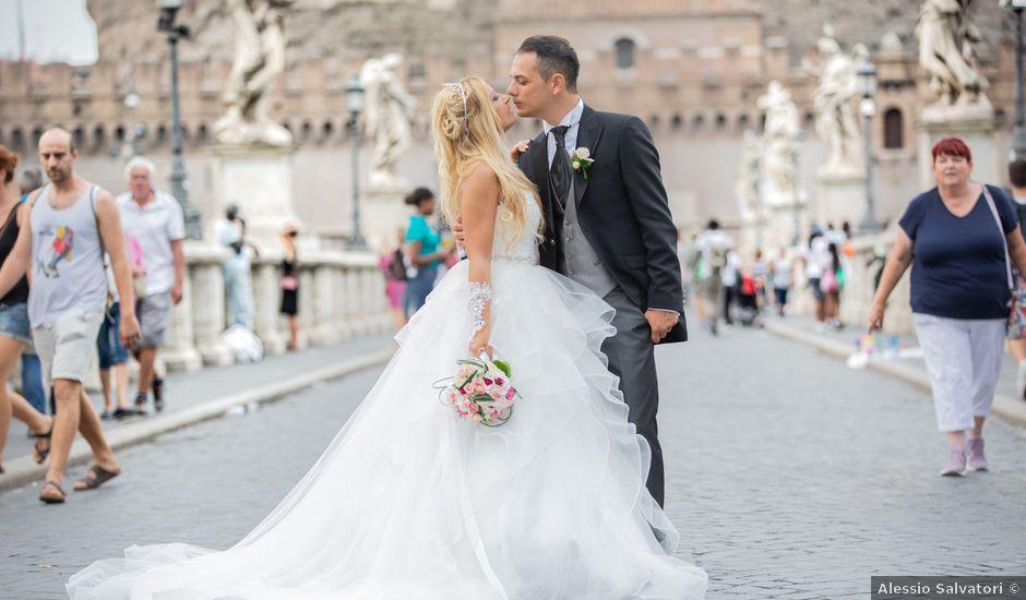 Il matrimonio di Daniele e Flavia a Roma, Roma