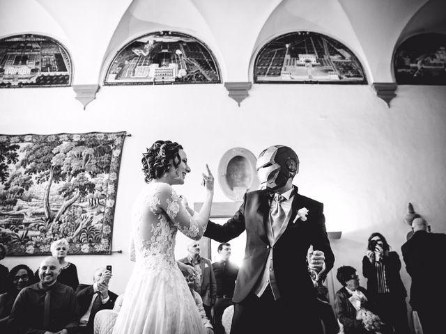Il matrimonio di Giacomo e Sara a Poggio a Caiano, Prato 1