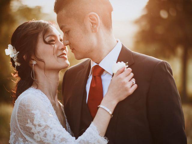 le nozze di Janet e Simon