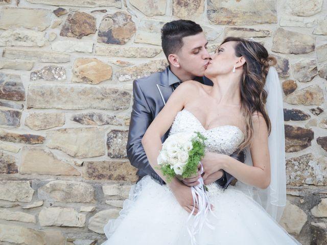 le nozze di Letizia e Simon Pietro