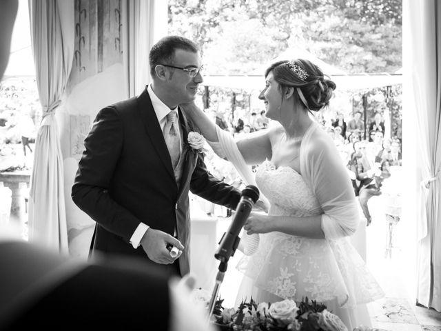Il matrimonio di Aimone e Elisa a Roncoferraro, Mantova 25