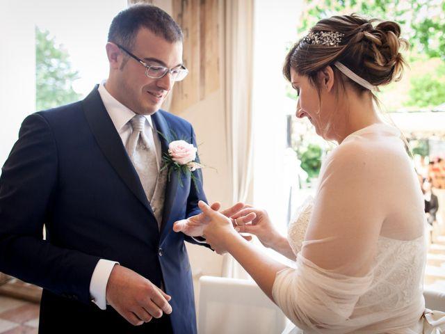 Il matrimonio di Aimone e Elisa a Roncoferraro, Mantova 27