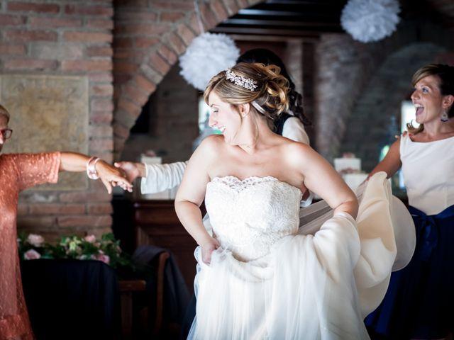 Il matrimonio di Aimone e Elisa a Roncoferraro, Mantova 43