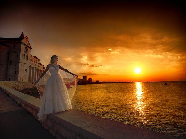 Il matrimonio di Valentina e Alessandro a Trani, Bari 37