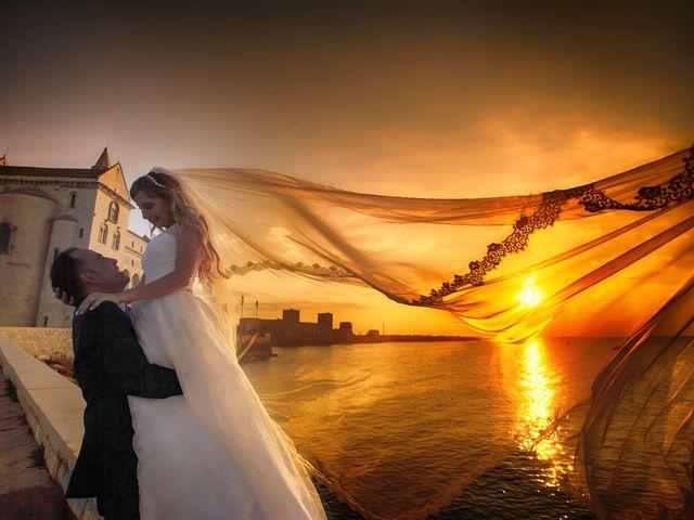 Il matrimonio di Valentina e Alessandro a Trani, Bari 38