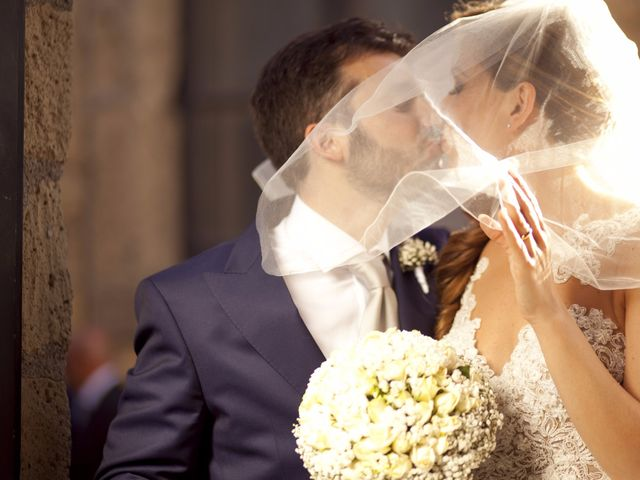 le nozze di Giusy e Daniele