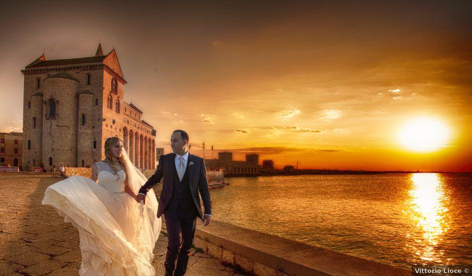 Il matrimonio di Valentina e Alessandro a Trani, Bari
