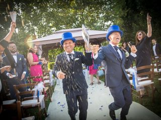 Le nozze di Fabio e Ivan