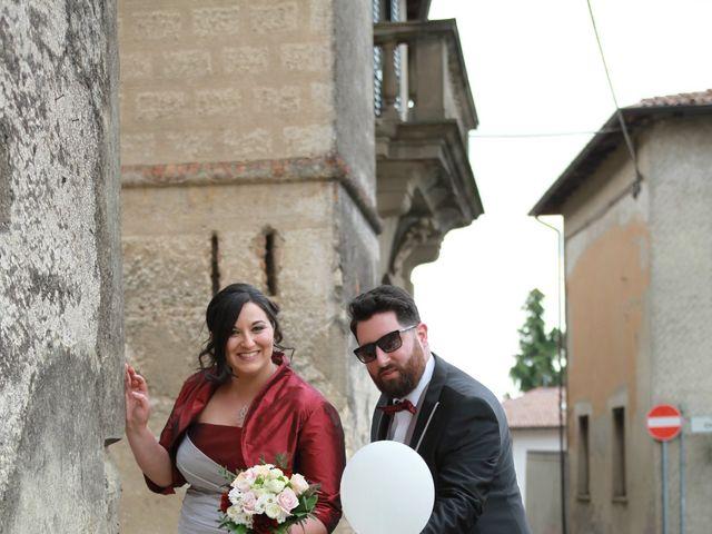Il matrimonio di Matteo e Maria a Erbusco, Brescia 9