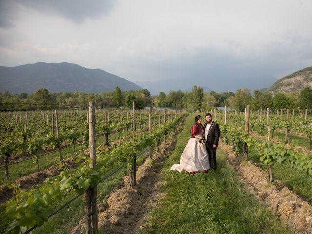 Il matrimonio di Matteo e Maria a Erbusco, Brescia 12