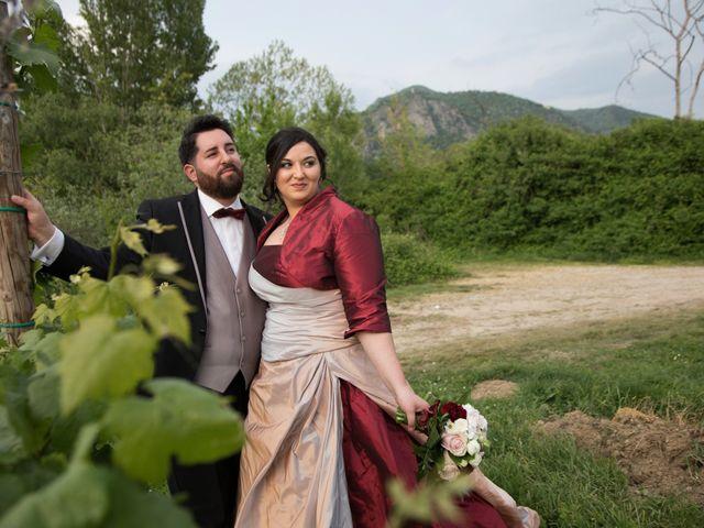 Il matrimonio di Matteo e Maria a Erbusco, Brescia 14