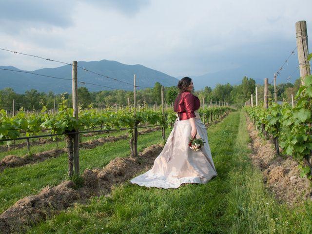 Il matrimonio di Matteo e Maria a Erbusco, Brescia 17