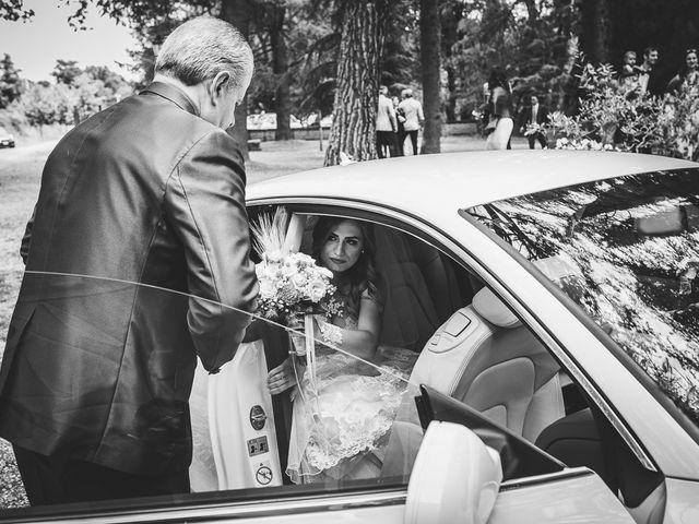 Il matrimonio di Simone e Francesca a Graffignano, Viterbo 24