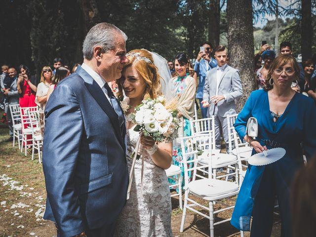 Il matrimonio di Simone e Francesca a Graffignano, Viterbo 26