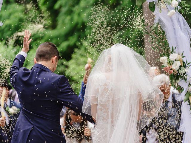 Il matrimonio di Simone e Francesca a Graffignano, Viterbo 34