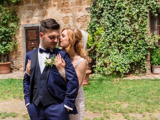 Il matrimonio di Simone e Francesca a Graffignano, Viterbo 43
