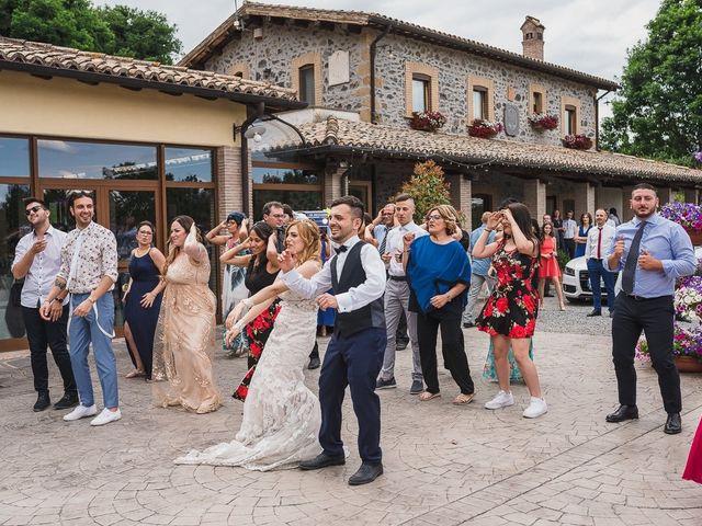 Il matrimonio di Simone e Francesca a Graffignano, Viterbo 55