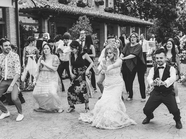 Il matrimonio di Simone e Francesca a Graffignano, Viterbo 56