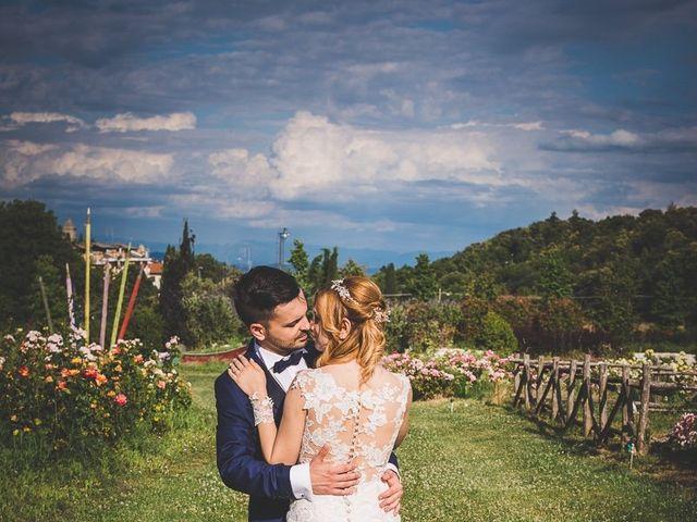 Il matrimonio di Simone e Francesca a Graffignano, Viterbo 64