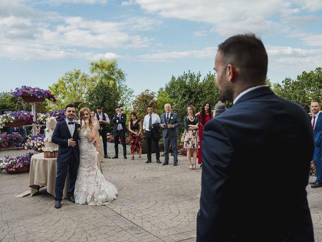 Il matrimonio di Simone e Francesca a Graffignano, Viterbo 65