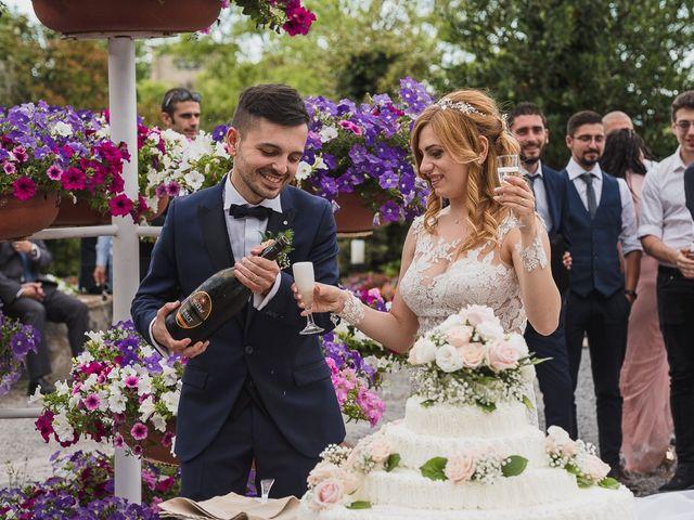 Il matrimonio di Simone e Francesca a Graffignano, Viterbo 71