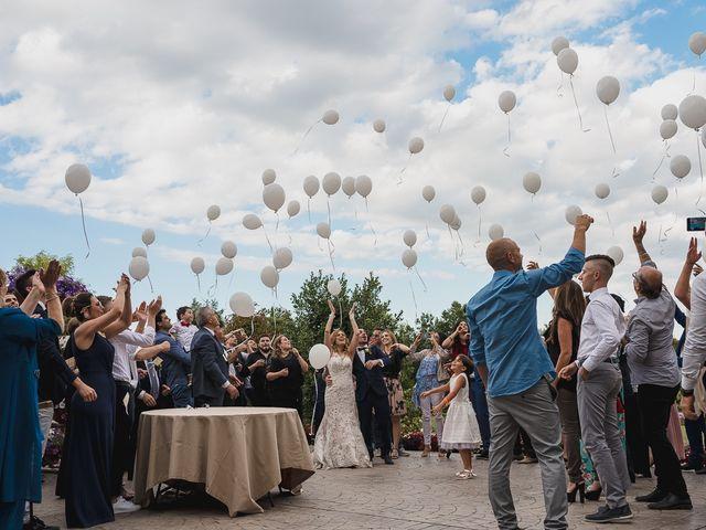 Il matrimonio di Simone e Francesca a Graffignano, Viterbo 72