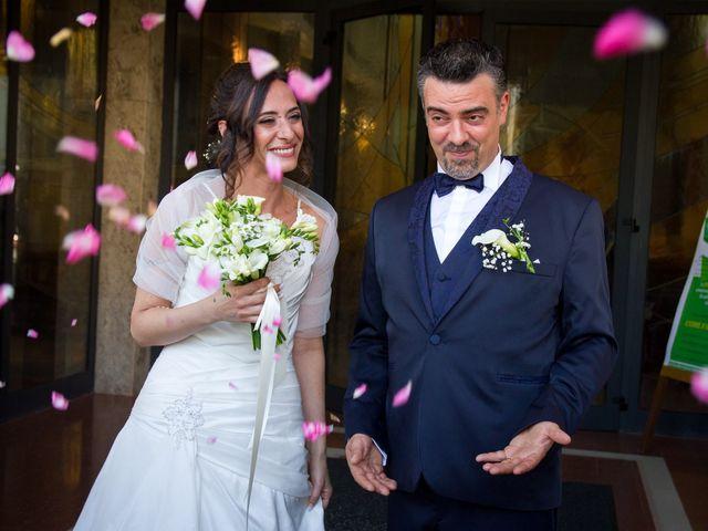 le nozze di Laura e Marcello