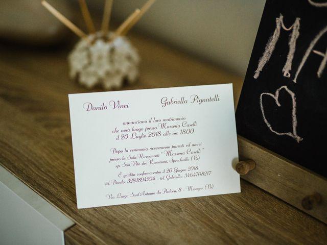 Il matrimonio di Danilo e Gabriella a Mesagne, Brindisi 26