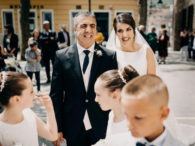 Il matrimonio di Francesco e Domenica a Caselle in Pittari, Salerno 21