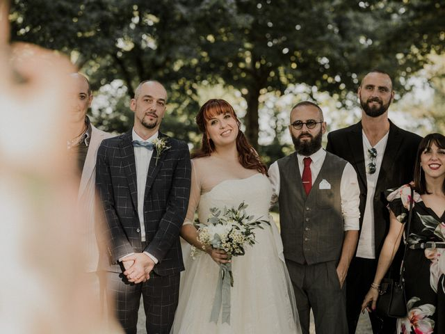 Il matrimonio di Simone e Elisa a Modena, Modena 343