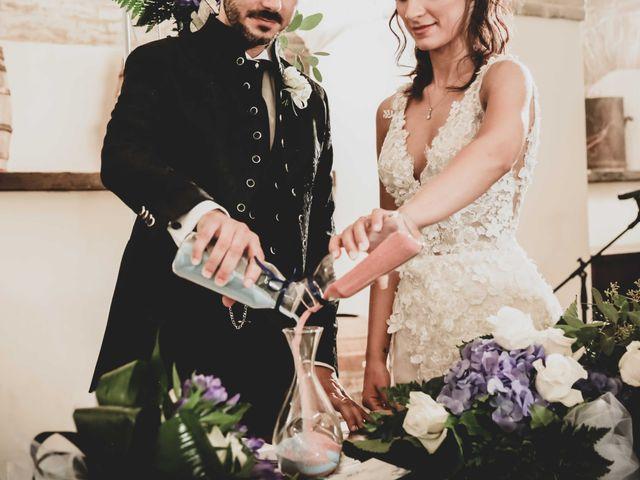 Il matrimonio di Michela e Mattia a Montefano, Macerata 14