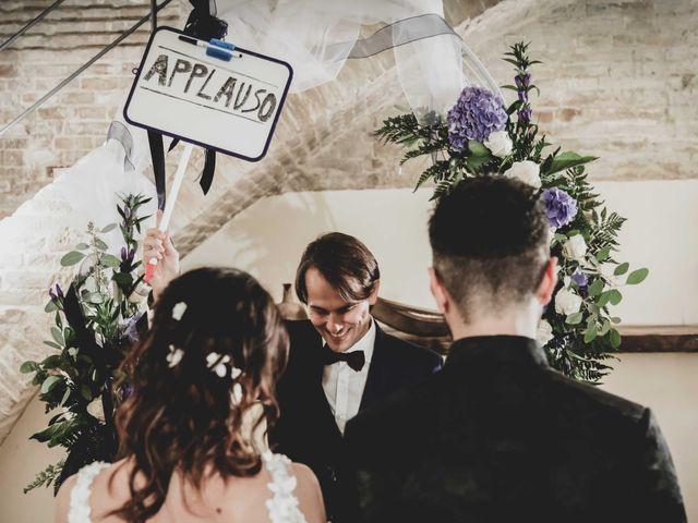 Il matrimonio di Michela e Mattia a Montefano, Macerata 19