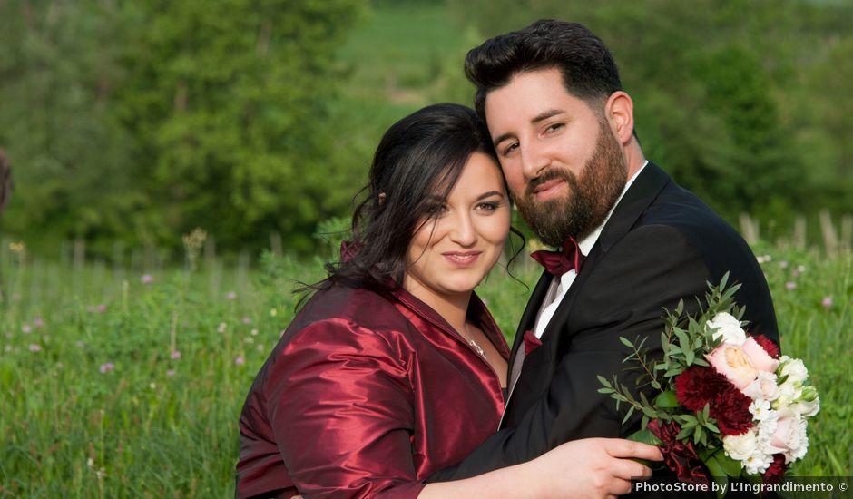 Il matrimonio di Matteo e Maria a Erbusco, Brescia