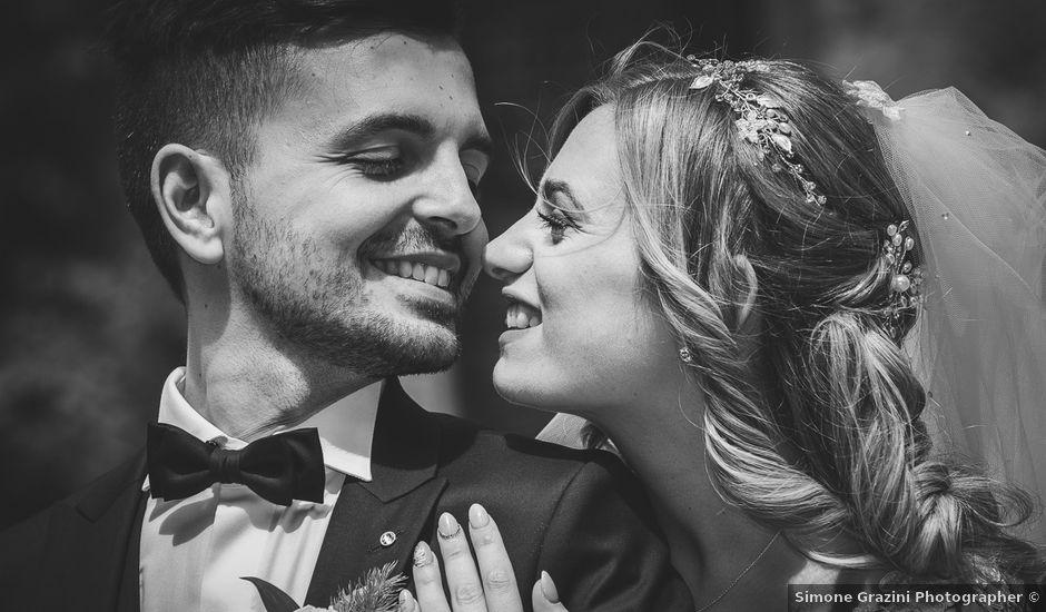 Il matrimonio di Simone e Francesca a Graffignano, Viterbo