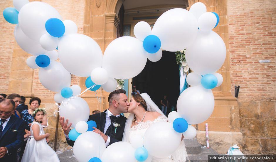 Il matrimonio di Zaira e Roberto a Barrafranca, Enna