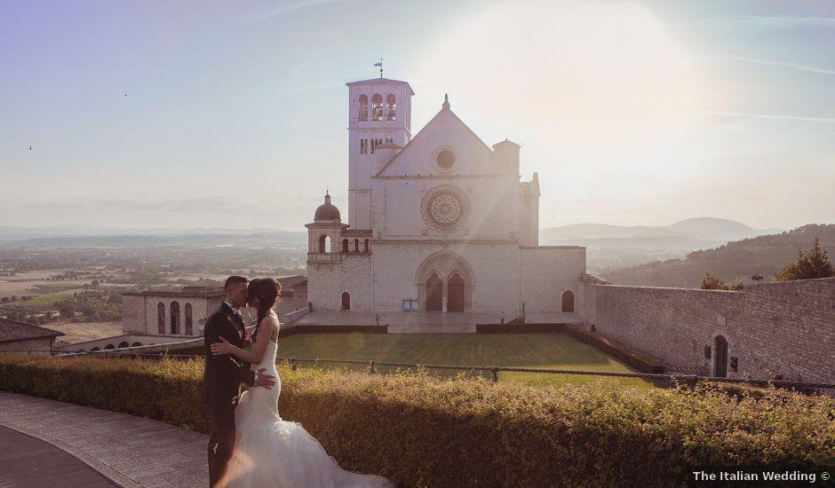 Il matrimonio di Francesco e Valentina a Assisi, Perugia