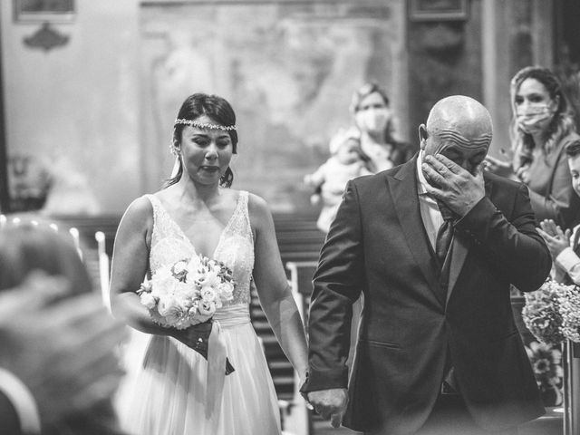 Il matrimonio di Manuel e Sabrina a Besozzo, Varese 19