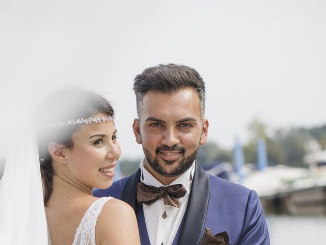 Il matrimonio di Manuel e Sabrina a Besozzo, Varese 26