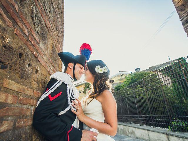 le nozze di Antonella e Christian