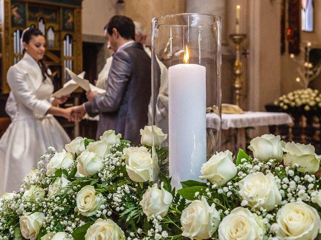 Il matrimonio di Davide e Sara a Inverigo, Como 26