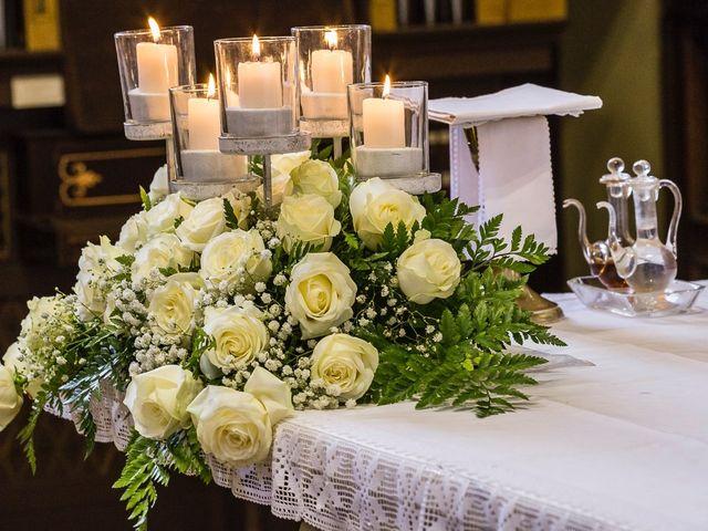 Il matrimonio di Davide e Sara a Inverigo, Como 29