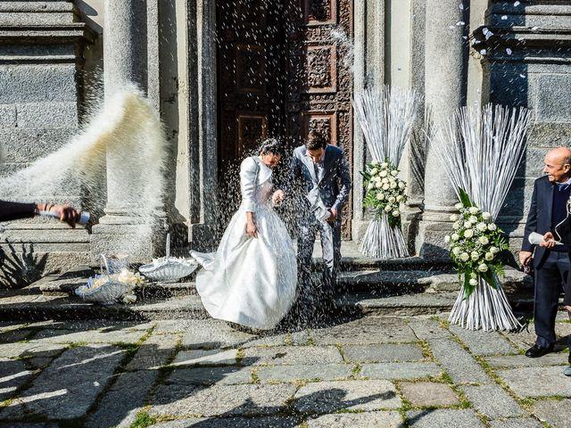 Il matrimonio di Davide e Sara a Inverigo, Como 32
