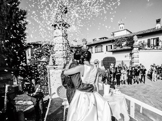 Il matrimonio di Davide e Sara a Inverigo, Como 34