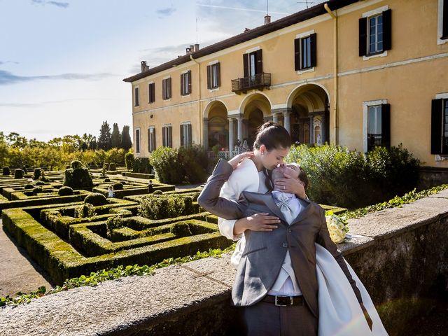 Il matrimonio di Davide e Sara a Inverigo, Como 40